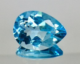 13.04 Crt Natural Topaz Top luster Faceted Gemstone (MG 30)