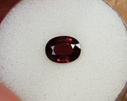 2,07ct Purplish red Mogok Spinel - GIA certified!