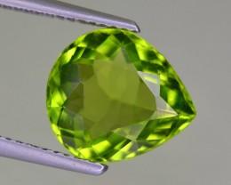 3.85 Cts Ring Size Peridot Gemstone From Pakistan
