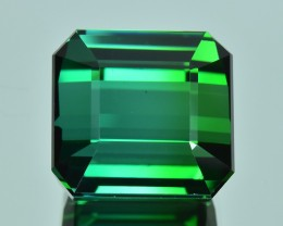 21.51 Cts Gorgeous Wonderful Color Natural Green Tourmaline