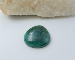 114ct Malachite Gemstone Cabochon (18080605)