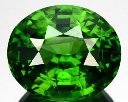 ~RAREST~ 11.81 Cts Natural Sparkling Green Zircon Orval Cut Srilanka