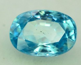 Top Grade 3.20 ct Blue Zircon