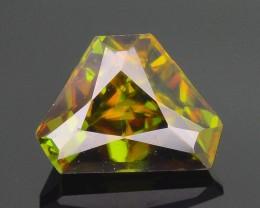 AAA Green Color 1.49 ct Chrome Sphene Skardu Pakistan SKU.18