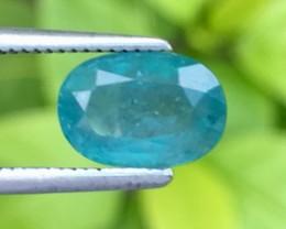Rare Clarity 1.37 Cts Grandidierite World Class Rare Gem ~ Madagascar Pk45
