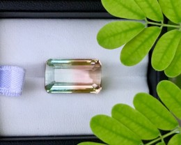 10.20Ct Very Beautiful Bi Colour Tourmaline