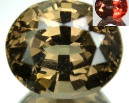 2.21 Cts Natural Color Change Garnet Oval Cut Tanzanian Gem