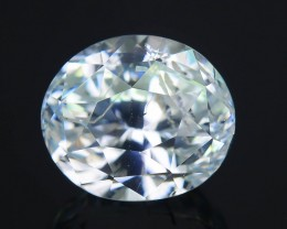 Gil Certified 3.16 ct Jeremejevite AAA Grade World's Rarest Mineral SKU.3