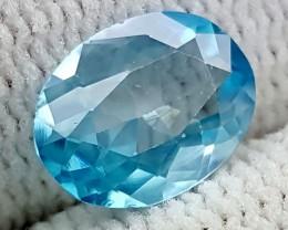 1.95CT NATURAL BLUE ZIRCON BEST QUALITY GEMSTONE IGC489