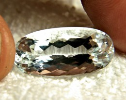 18.3 Carat Silver Blue VVS/VS Aquamarine - Superb
