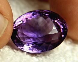 24.47 Carat VS Brazil Purple Amethyst - Gorgeous