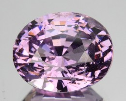 3.10 Cts Natural Spinel Purplish Pink Oval Srilanka Gem