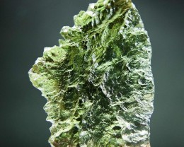 Shiny Natural Crystal Moldavite quality A+