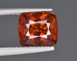 Natura Rare Bastnasite Faceted Gemstone 4.42 Cts from Zagi, Pakistan