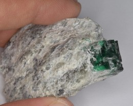 Natural Emerald Specimen 160 Cts from Swat Mines, Pakistan