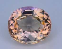 Gil Certified Pink  Zoisite/Tanzanite 1.37 ct Untreated Supreme Rare SKU-7