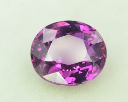 Certified Top Grade 2.23 ct Pink corundum Sapphire~Tajikistan