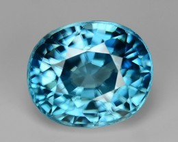 5.54 CT NATURAL ZIRCON CAMBODIA HIGH QUALITY GEMSTONE Z9