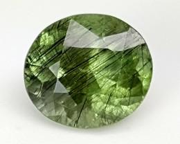 3.30Crt Rutile Peridot  Best Grade Gemstones JI09