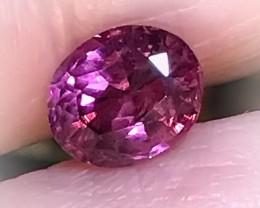 Superb Ruby Pink Umbalite Garnet 1.60cts VVS Stunning gem