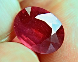 7.49 Carat Fiery Ruby -  Gorgeous