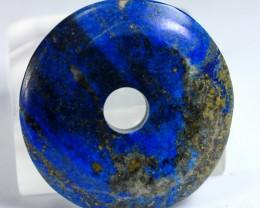 80 CT Natural lapis  lazuli Carvid Dount Stone Special Shape