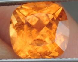 4.44cts Mandarin / Fanta Garnet,   Bright Vivid Stone