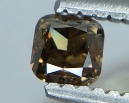 0.21 Crt Certified Diamond Faceted Gemstone (R 2)