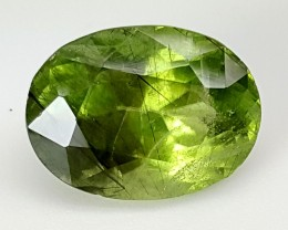 9.7 Crt Rutile Peridot Of Pakistan Top Collection RUP07