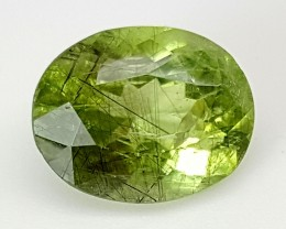 6.8 Crt Rutile Peridot Of Pakistan Top Collection RUP09