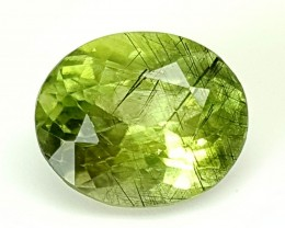 5.75 Crt Rutile Peridot Of Pakistan Top Collection RUP12