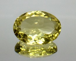 8.81 Crt Natural Lemon Quartz Faceted Gemstone (AG 32)