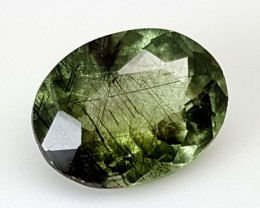 3.65 Crt Rutile Peridot Of Pakistan Top Collection RUP33