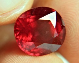 10.41 Carat Fiery, Vibrant Pigeon Blood Ruby - Superb
