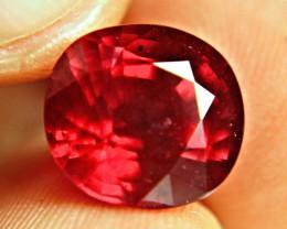 10.41 Carat Fiery, Vibrant Pigeon Blood Ruby - Superb