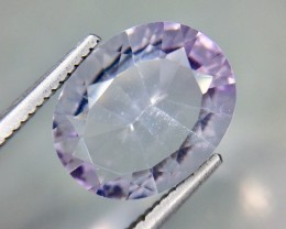 2.97 Crt Natural Amethyst Top Laser cutting Faceted Gemstone (AG 32)