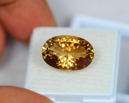 12.69Ct Natural Champagne Topaz Oval Cut Lot LZ1027