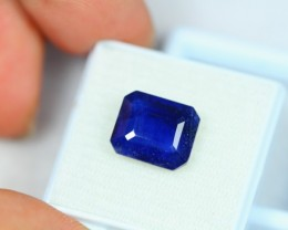 6.68Ct Natural Blue Sapphire Octagon Cut Lot LZ1029