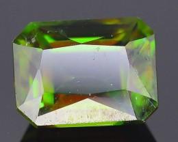 AAA Green Color 1.17 ct Chrome Sphene Skardu Pakistan SKU.18