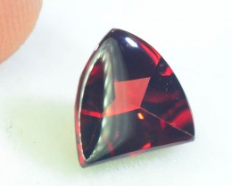 1.85 ct Laser Cut Natural Red Rhodolite Garnet