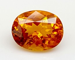 1.2CT ULTRA RARE CLINOHUMITE OF TAJIKISTAN IGCRC25