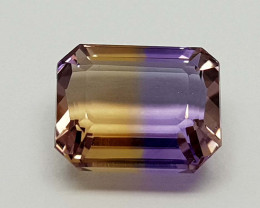 7.69CT BOLIVIAN AMETRINE BEST QUALITY STONES IGCAMCB02