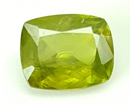 0.85Crt Chrome Sphene  Best Grade Gemstones JI10