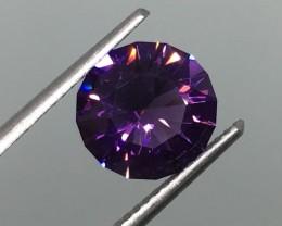 2.02 Carat VVS Amethyst Purple Uruguay Master Cut - Masteriece !