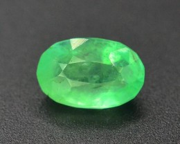 1.25 Carats Beautiful green color Emerald Gemstone From Afghanistan