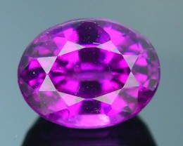 Rare 1.40 ct Grape Garnet one of a Kind Fire Mozambique SKU.7