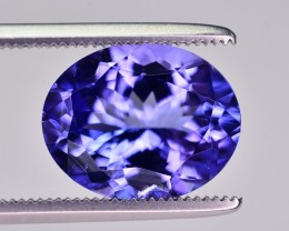 3.58 Ct GIL Certified Natural Gorgeous Tanzanite