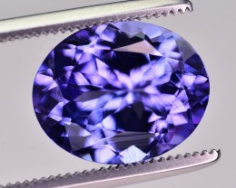 3.47 Ct GIL Certified Brilliant Color Natural Tanzanite