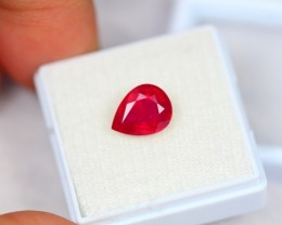 3.07ct Natural Ruby Oval Cut Lot V1970