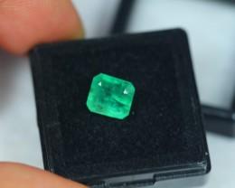 2.48ct Natural Zambia Emerald Lot V1973